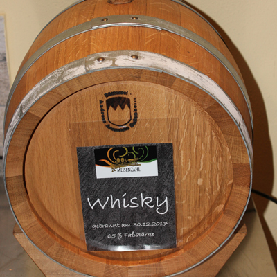 Whisky Fass